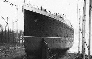 Lusitania's launch