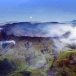 Mount Tambora in Indonesia