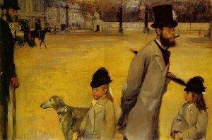 Place de la Concorde (1875) - Edgar Degas