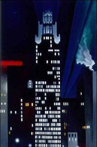 Radiator Building -- Night, New York (1927) - Georgia O'Keeffe