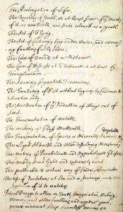 Robert Boyle's Wish List