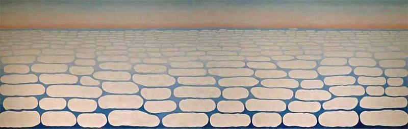 Sky Above Clouds IV (1965) - Georgia O'Keeffe
