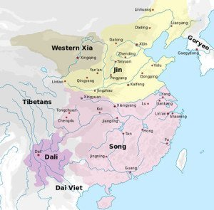 Southern Song Dynasty Map