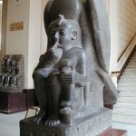 Statue of Ramses II as a child