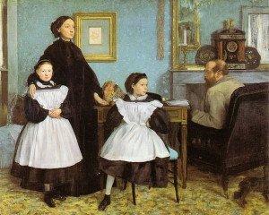 The Bellelli Family (1867) - Edgar Degas