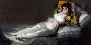 The Clothed Maja (1805) - Francisco Goya