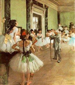 The Dance Class (1874) - Edgar Degas