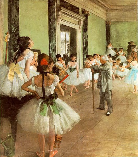 The Dance Class (1874) - Edgar Degas