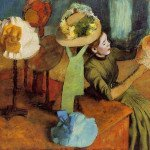 The Millinery Shop (1886) - Edgar Degas