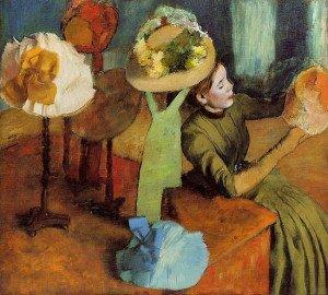 The Millinery Shop (1886) - Edgar Degas