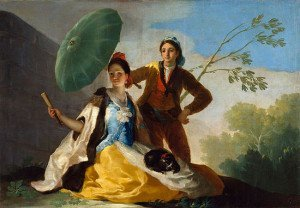 The Parasol (1777) - Francisco Goya