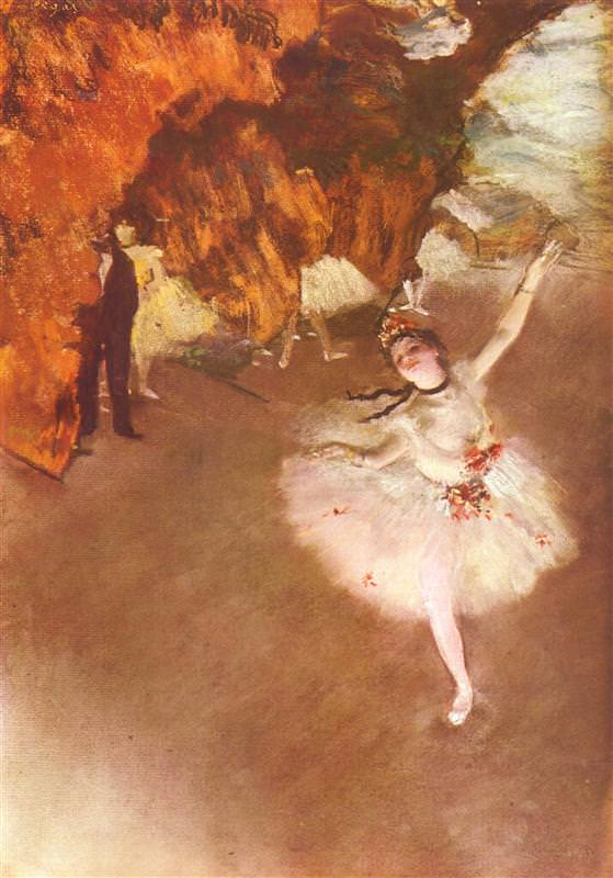 The Star (1878) - Edgar Degas