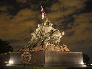 The U.S. Marine Corps War Memorial