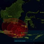 1815 Tambora eruption volcanic ashfall regions