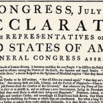 U.S. Declaration of Independence Opening