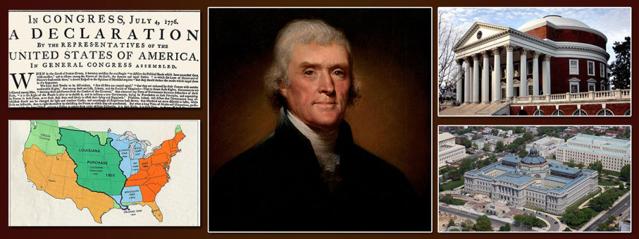the importance of the accomplishments of thomas jefferson