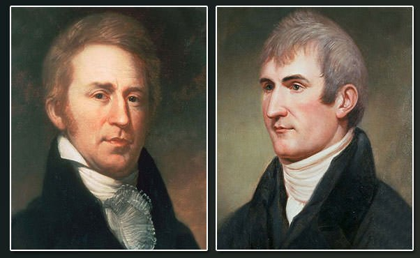 William Clark and Meriweather Lewis