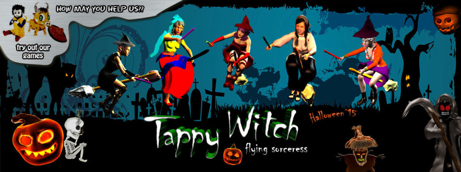 Tappy Witch | Free Tapping Game For Mobile Phones