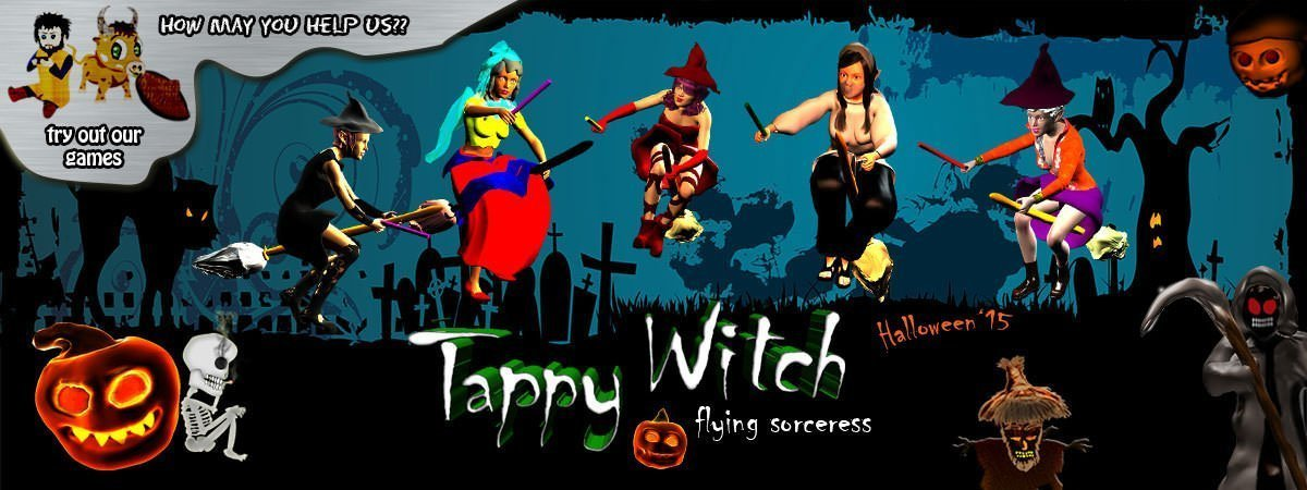 Tappy Witch Flying Sorceress Featured