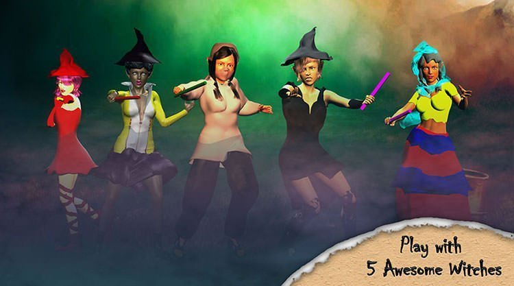5 Witches of Tappy Witch