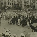 A 1924 parade on Lenox Avenue, Harlem