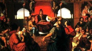 The Feast of Attila by Mor Than