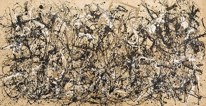 10 Most Famous Paintings By Jackson Pollock | Learnodo Newtonic