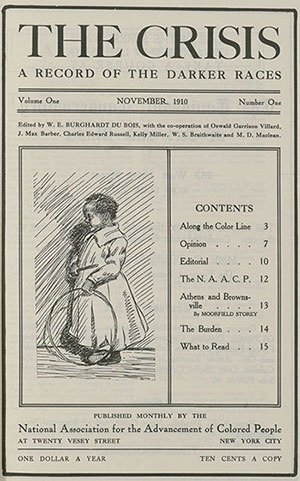 Cover of The Crisis journal
