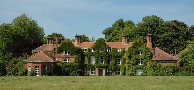 Earlham Hall, childhood home of Elizabeth Fry