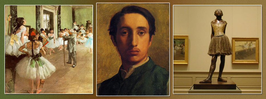 a brief biography of degas edgar french painter By edgar degas degas was a french painter and sculptor who took a real interest in  from exhibitions to biography,  a brief visual history of ballet in the.