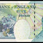 Bank of England's 5 Pound note featuring Elizabeth Fry