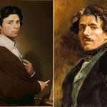 Ingres (left) and Delacroix (right)