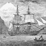 Depiction of HMS Beagle