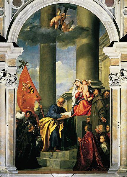 Pesaro Madonna (1526) by Titian