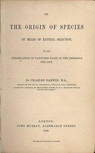 Origin of Species Title Page