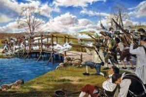 North Bridge confrontation