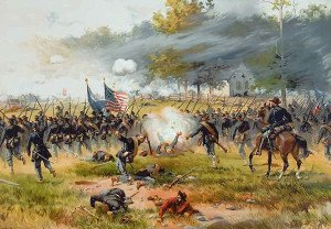 Battle of Antietam depiction