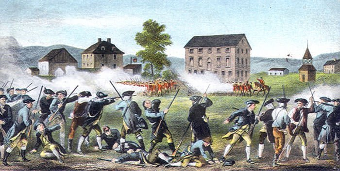 Battle of Lexington depiction