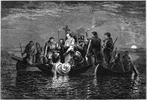Burial of Hernando de Soto