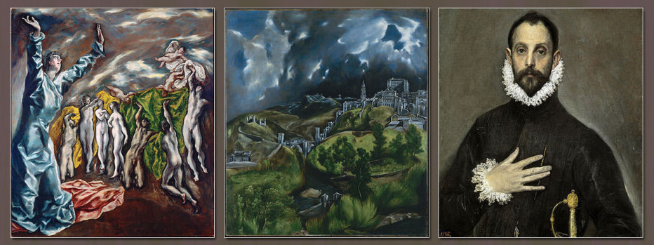 an analysis of el grecos landscape paintings El greco: el greco, master of spanish painting, whose highly individual dramatic and expressionistic style met with the puzzlement of his contemporaries but gained newfound appreciation in the 20th century.