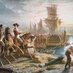 British evacuation of Boston in March 1776