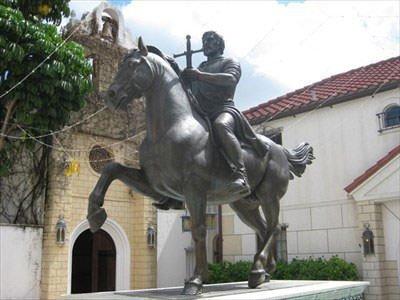 Statue of De Soto in Florida