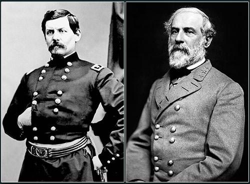 George B. McClellan & Robert E. Lee