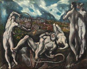 Laocoon (1614) - El Greco