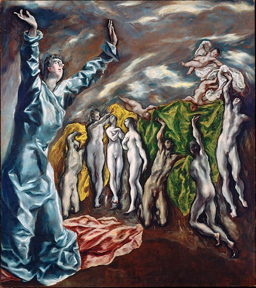 Opening of the Fifth Seal (1614) - El Greco
