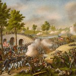 Battle of Antietam at Burnside's Bridge