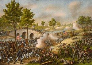 Battle of Antietam at Burnside's Bridge
