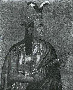 King Atahualpa portrait