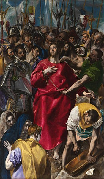 The Disrobing of Christ (1579) - El Greco