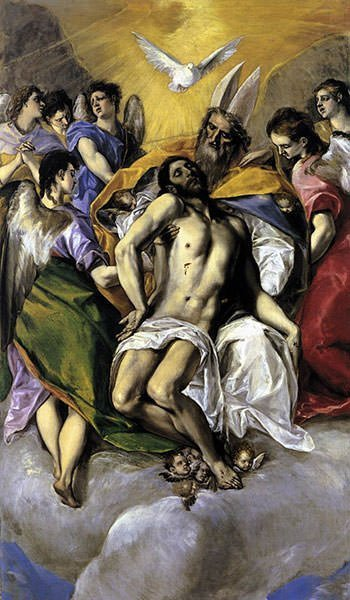 The Holy Trinity (1579) - El Greco